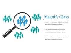 Magnify Glass Ppt PowerPoint Presentation Pictures Example Topics