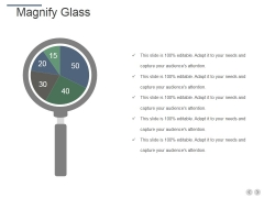 Magnify Glass Ppt PowerPoint Presentation Slides Sample