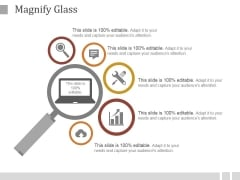 Magnify Glass Ppt PowerPoint Presentation Styles