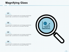 Magnifying Glass Big Data Analysis Ppt PowerPoint Presentation Layouts Designs Download