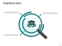 Magnifying Glass Big Data Ppt PowerPoint Presentation Icon Background