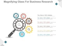 Magnifying Glass For Business Research Ppt PowerPoint Presentation Styles