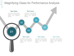 Magnifying Glass For Performance Analysis Ppt PowerPoint Presentation Slides