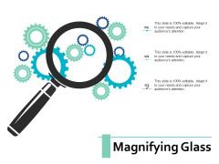 Magnifying Glass Management Ppt PowerPoint Presentation Infographics Icons