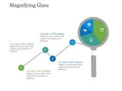 Magnifying Glass Ppt PowerPoint Presentation Diagram Graph Charts