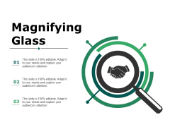 Magnifying Glass Ppt PowerPoint Presentation File Slide