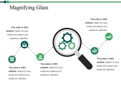 Magnifying Glass Ppt PowerPoint Presentation Gallery Elements