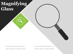 Magnifying Glass Ppt PowerPoint Presentation Gallery Example Introduction