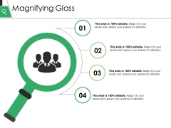 Magnifying Glass Ppt PowerPoint Presentation Gallery Slide