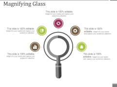Magnifying Glass Ppt PowerPoint Presentation Icon Good