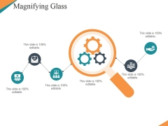 Magnifying Glass Ppt PowerPoint Presentation Icon Topics