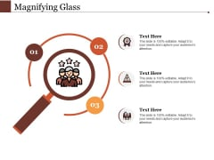 Magnifying Glass Ppt PowerPoint Presentation Ideas Backgrounds