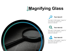 Magnifying Glass Ppt PowerPoint Presentation Ideas Guidelines
