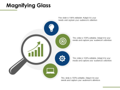 Magnifying Glass Ppt PowerPoint Presentation Ideas Outline