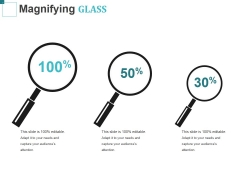 Magnifying Glass Ppt PowerPoint Presentation Ideas Visual Aids