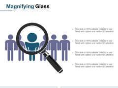 Magnifying Glass Ppt PowerPoint Presentation Infographic Template Themes