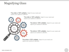 Magnifying Glass Ppt PowerPoint Presentation Infographics