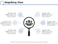 Magnifying Glass Ppt PowerPoint Presentation Layouts Shapes