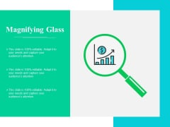 Magnifying Glass Ppt PowerPoint Presentation Model Gridlines