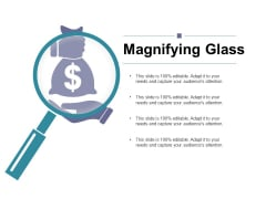 Magnifying Glass Ppt PowerPoint Presentation Outline Portrait