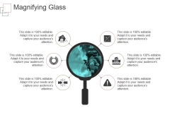 Magnifying Glass Ppt PowerPoint Presentation Outline