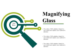 Magnifying Glass Ppt PowerPoint Presentation Pictures Designs