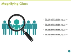 Magnifying Glass Ppt PowerPoint Presentation Pictures Maker