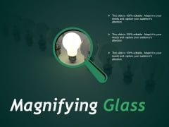 Magnifying Glass Ppt PowerPoint Presentation Professional Sample