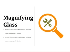 Magnifying Glass Ppt PowerPoint Presentation Show Icon