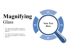 Magnifying Glass Ppt PowerPoint Presentation Show Maker