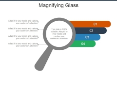 Magnifying Glass Ppt Powerpoint Presentation Show Slides
