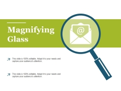 Magnifying Glass Ppt PowerPoint Presentation Slides Format