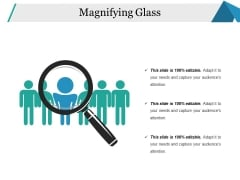 Magnifying Glass Ppt PowerPoint Presentation Summary Samples