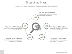 Magnifying Glass Ppt PowerPoint Presentation Summary