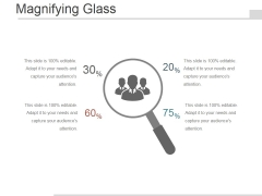 Magnifying Glass Ppt PowerPoint Presentation Visual Aids