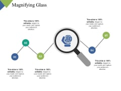 Magnifying Glass Research Ppt PowerPoint Presentation Icon Demonstration