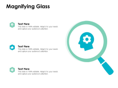 Magnifying Glass Technology Marketing Ppt PowerPoint Presentation Styles Slides