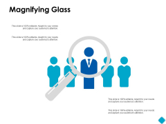 Magnifying Glass Testing Ppt PowerPoint Presentation Show Guide
