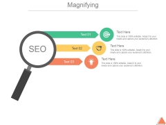 Magnifying Ppt PowerPoint Presentation Deck