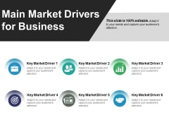 Main Market Drivers For Business Ppt PowerPoint Presentation File Slides