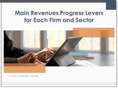 Main Revenues Progress Levers For Each Firm And Sector Ppt PowerPoint Presentation Complete Deck With Slides