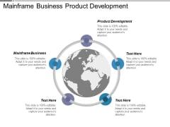 Mainframe Business Product Development Ppt PowerPoint Presentation Portfolio Examples