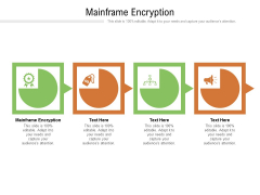 Mainframe Encryption Ppt PowerPoint Presentation Show Pictures Cpb Pdf