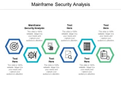 Mainframe Security Analysis Ppt PowerPoint Presentation Infographic Template Show Cpb