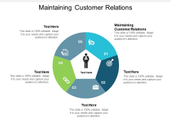 Maintaining Customer Relations Ppt PowerPoint Presentation Layouts Outfit Cpb
