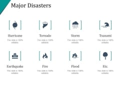 Major Disasters Ppt PowerPoint Presentation Themes