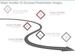 Major Hurdles To Success Presentation Images