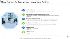 Major Reasons For Poor Vendor Management System Structure PDF