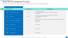 Major Risk And Mitigation Strategies Brochure PDF