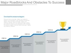 Major Roadblocks And Obstacles To Success Ppt Slides